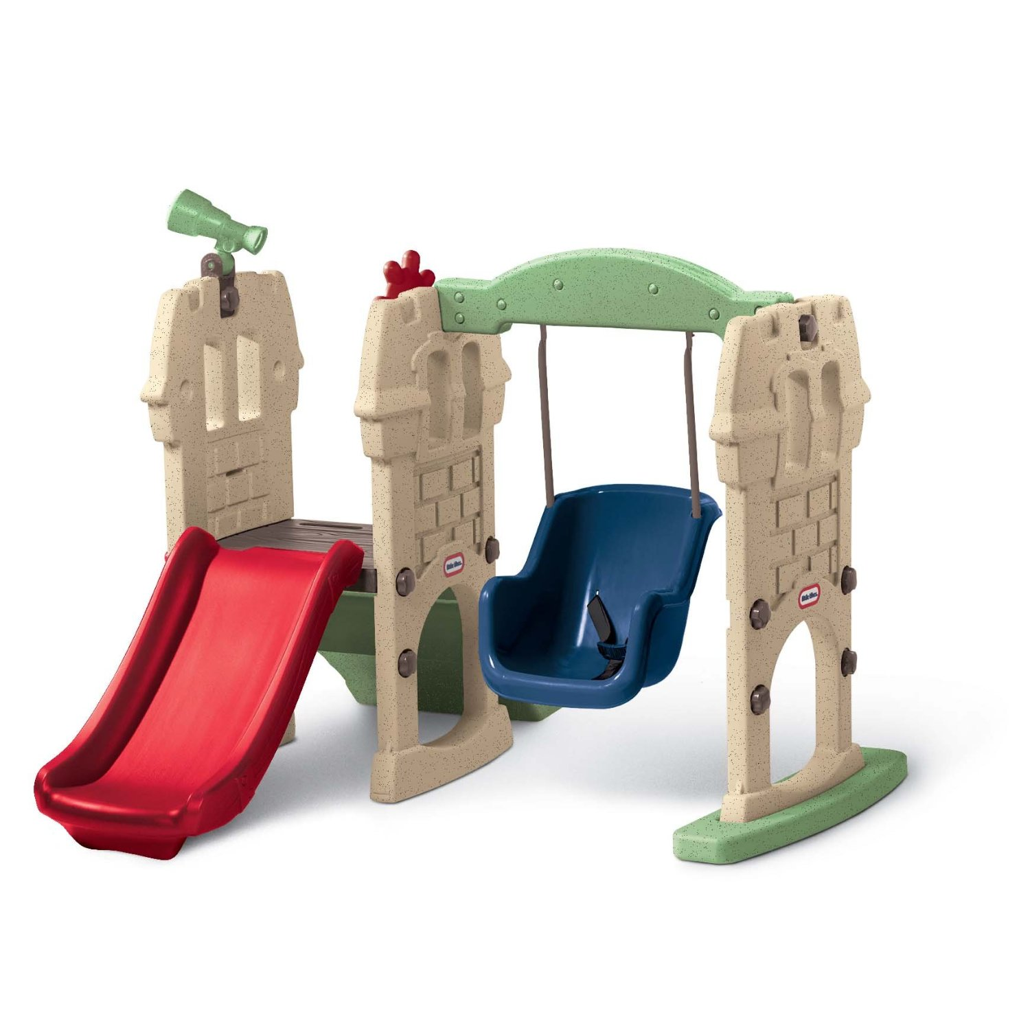 little tikes endless adventures swing along castle review. Black Bedroom Furniture Sets. Home Design Ideas