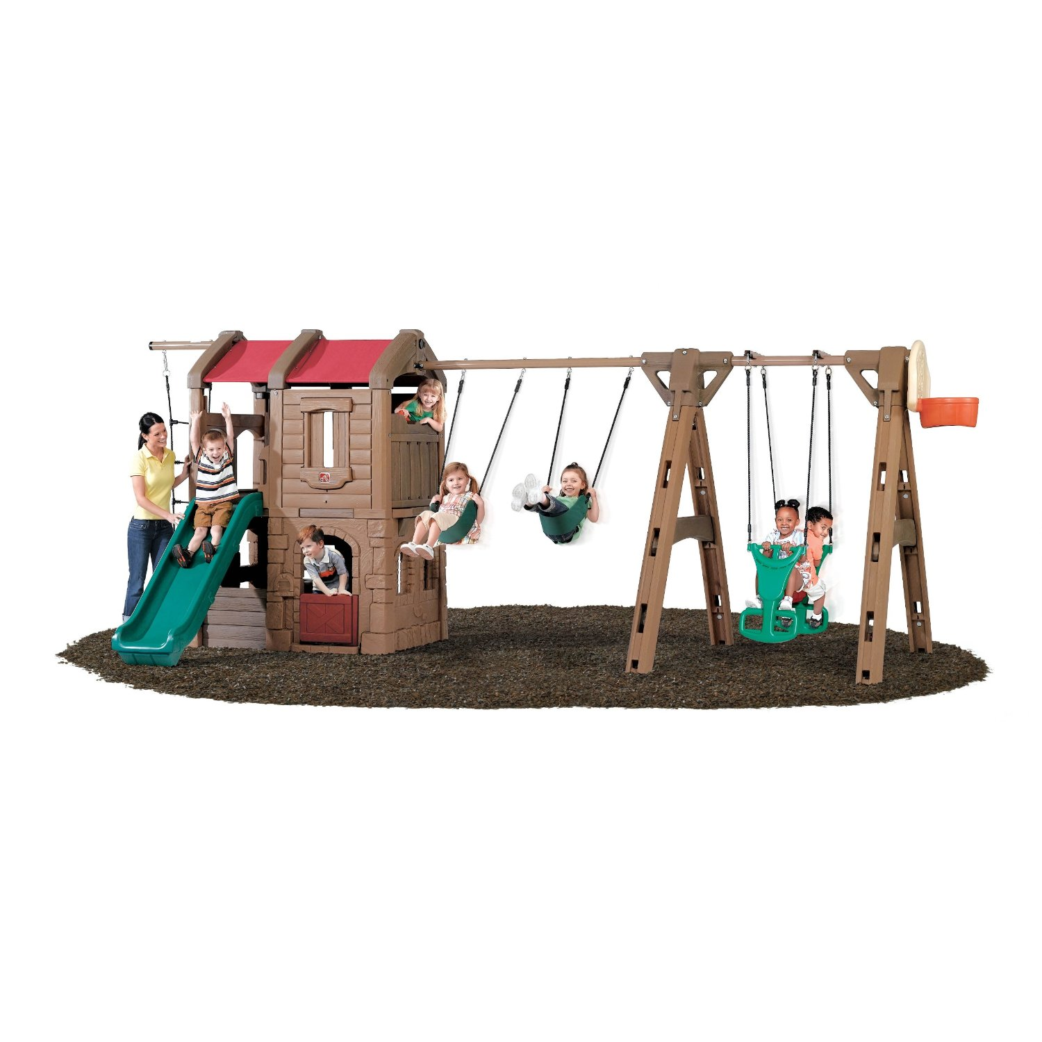 Step2 Naturally Playful Adventure Lodge Play Center With