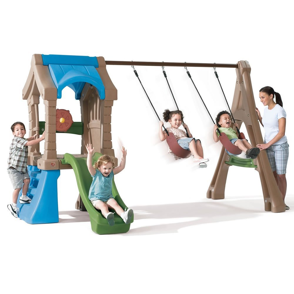 Walmart Outdoor Toys : Step play up gym set outdoorswingsetsforkids