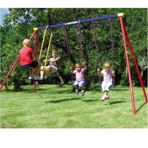 Kettler Deluxe Multiplay Swing Set Outdoorswingsetsforkids Com