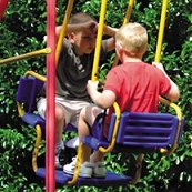 Kettler Deluxe multiplay swing set glider