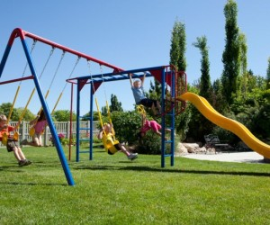 Metal Swing Sets The Pioneers In Playground Equipment