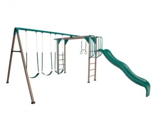 Lifetime monkey bar swing set